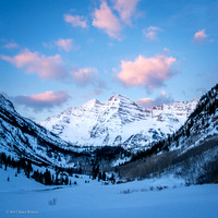 Maroon Bells - March 2017